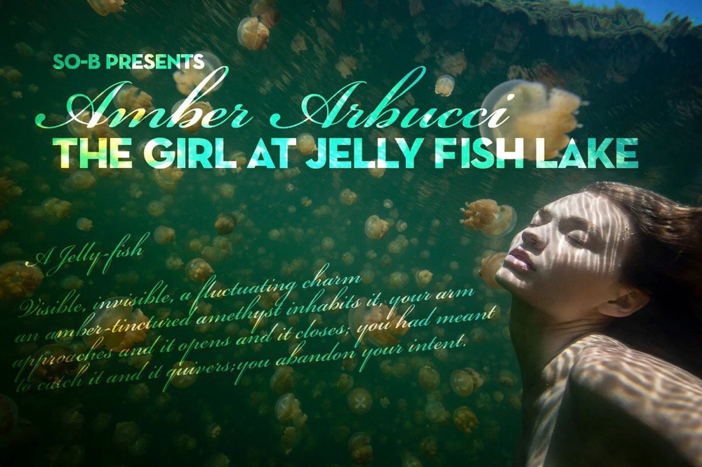 The Girl At Jellyfish Lake Exhibition