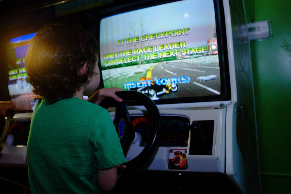 Jack likes to pretend to play games where you pretend to drive