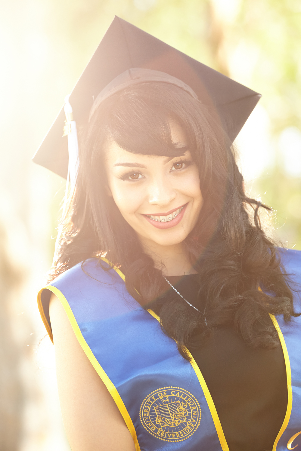 Blanca Zamora - Graduating Senior at UCR