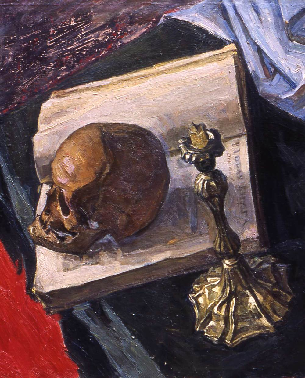 Still Life with the Scull