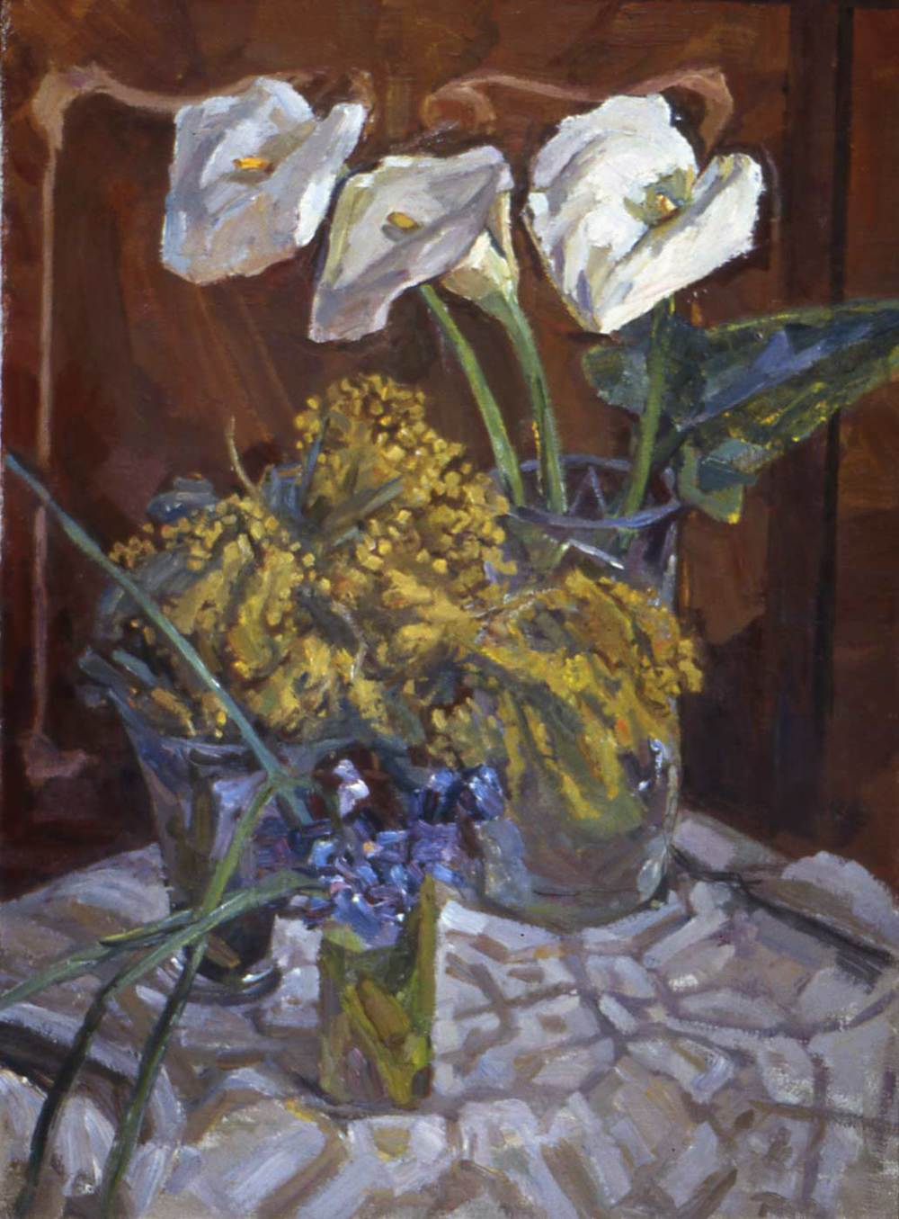 Still Life with White Caly