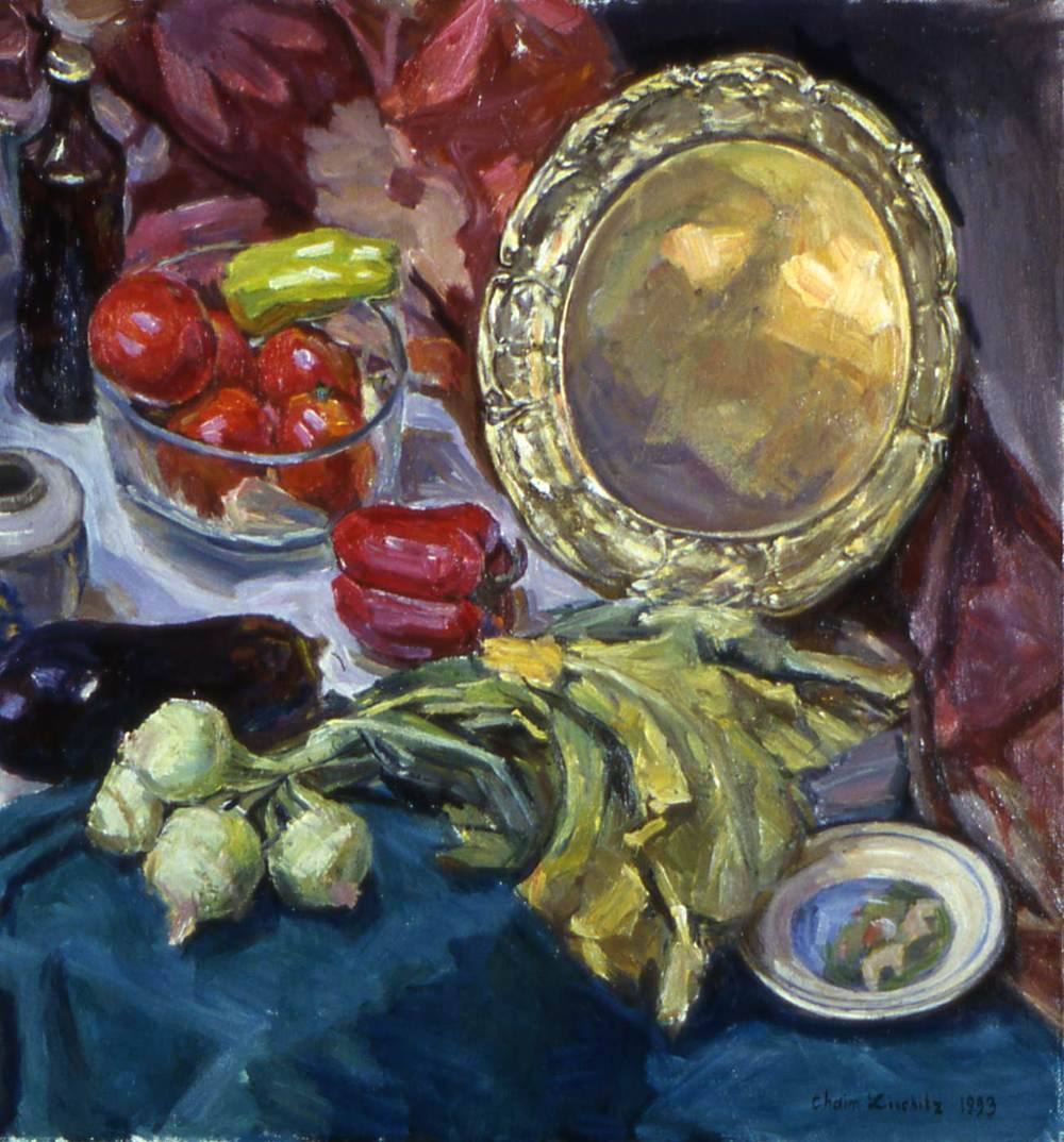Still Life with Metal Tray