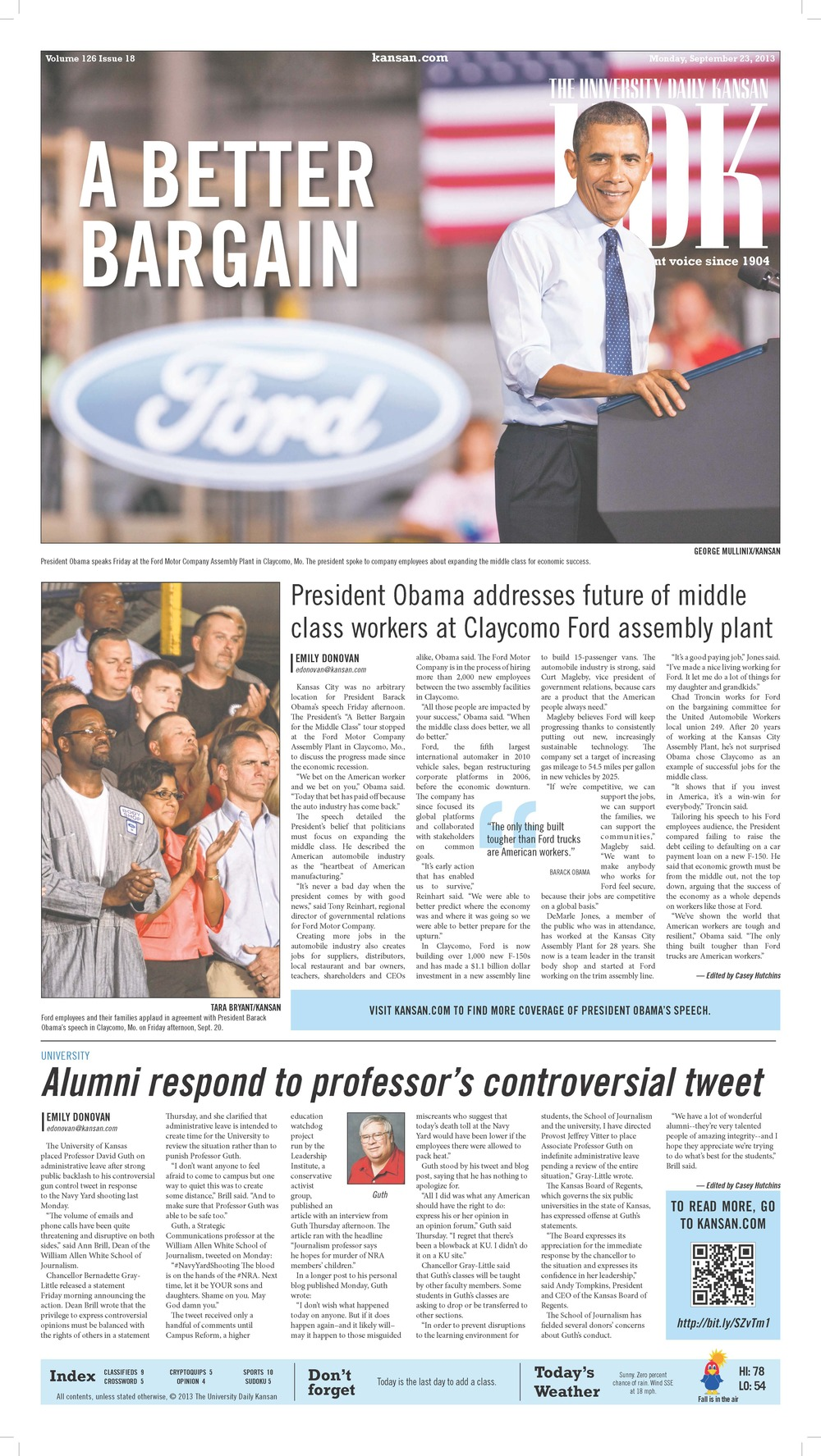 Sept. 23, 2013 / news layout
