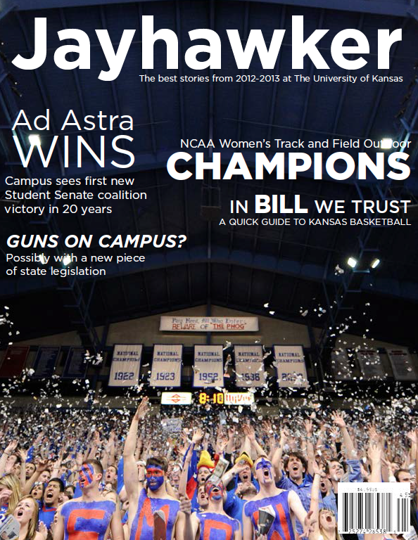 Cover / Jayhawker Annual Magazine