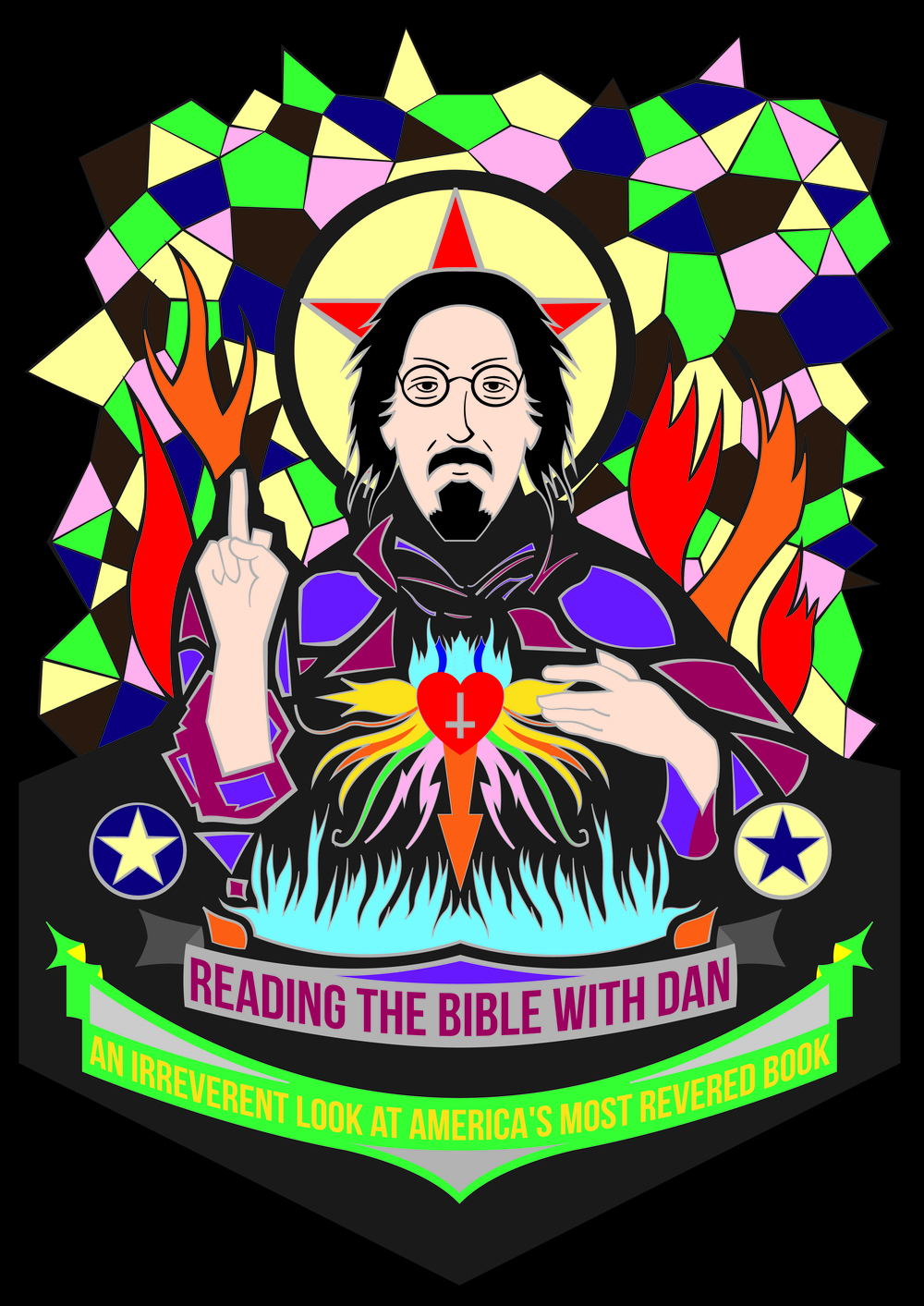 "A piece for Dan's Podcast, ""Reading The Bible W/Dan"" that you should all check out."