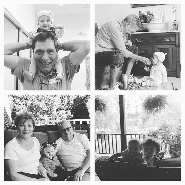Claudia's first trip to Virginia, filled with love and wonderful memories. #ilovemyfamily #babycation