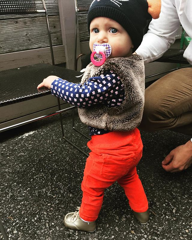 We are so ready for fall. #cutiepie