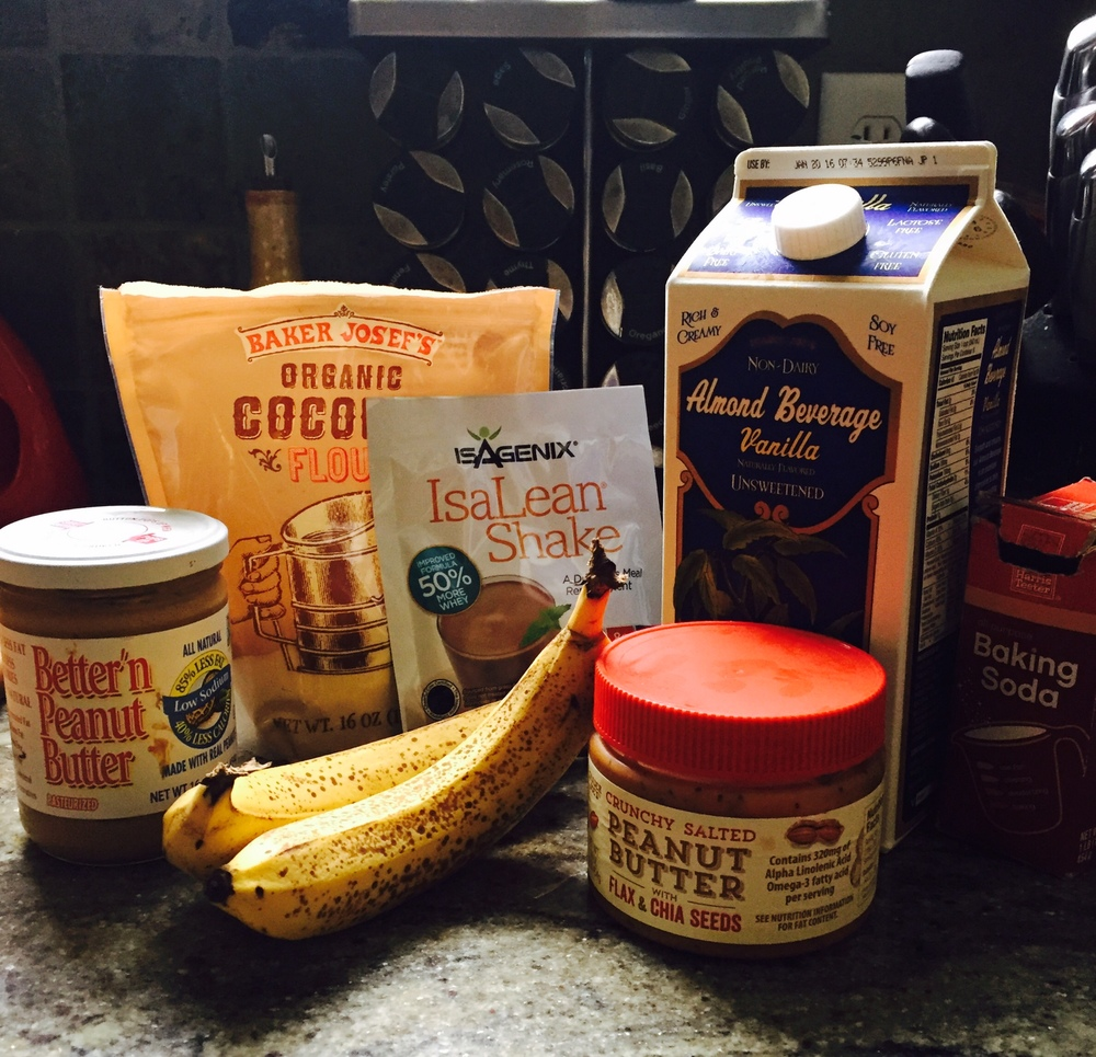 Ingredients for Nutty Breakfast Cookies