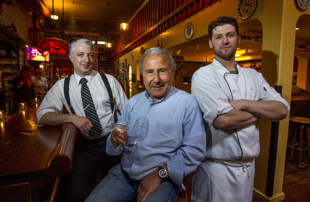 Longtime Ambrosia owner Armen Kevrekian says the restaurant has endured because it listens to its customers and pays attention to trends in food and wine. (Andy Nelson/The Register-Guard)