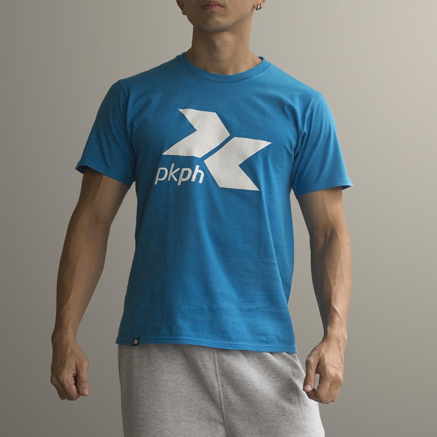 White PKPH logo over Blue Flow.