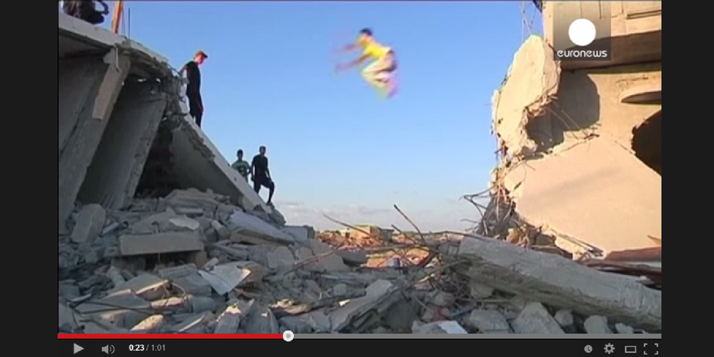 Watch this clip by Euronews of the PK Gaza community below.