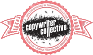 I'm endorsed and approved by the Copywriter Collective