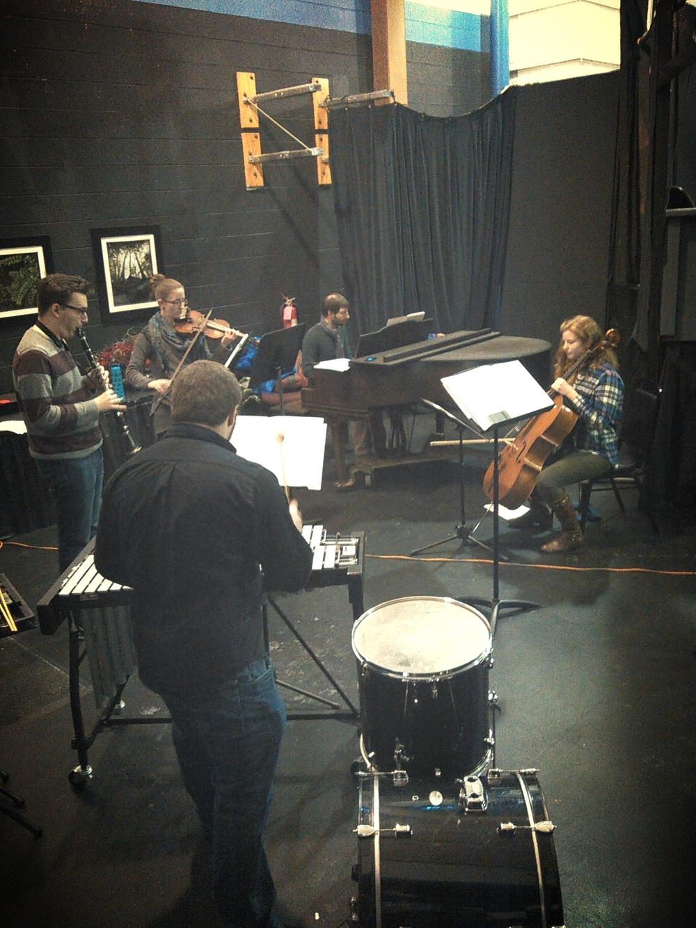 "Rehearsing Nico Muhly's ""Doublespeak"""