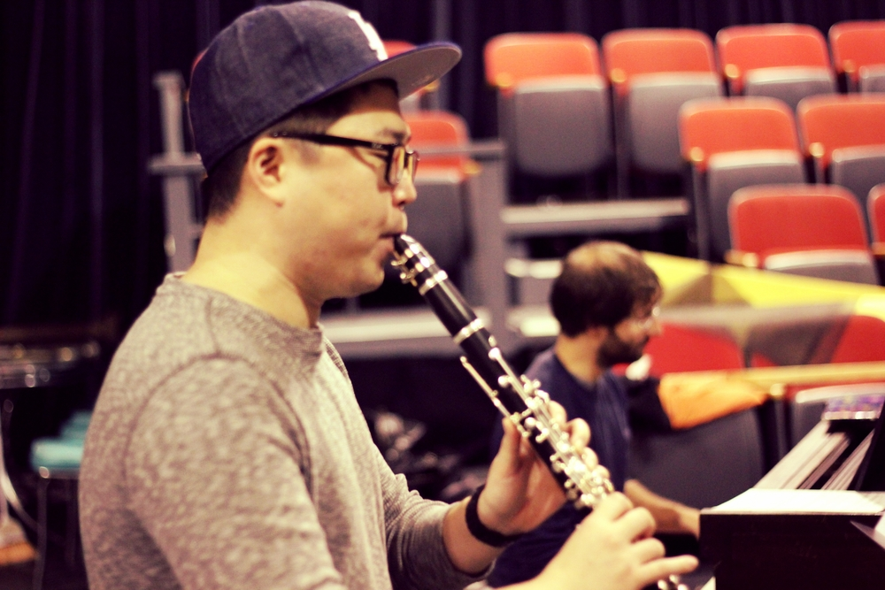 James Lee (clarinet) and Rob Kovacs (piano)