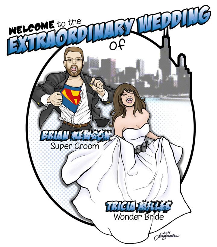 Tricia & Brian's Extraordinary Wedding