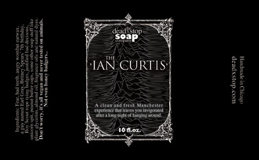 Ian Curtis Bodywash