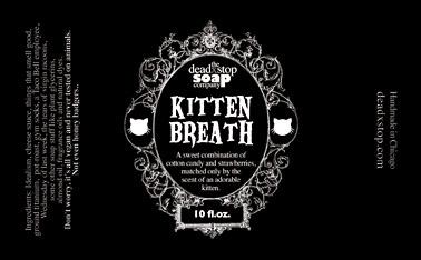 Kitten Breath Bodywash