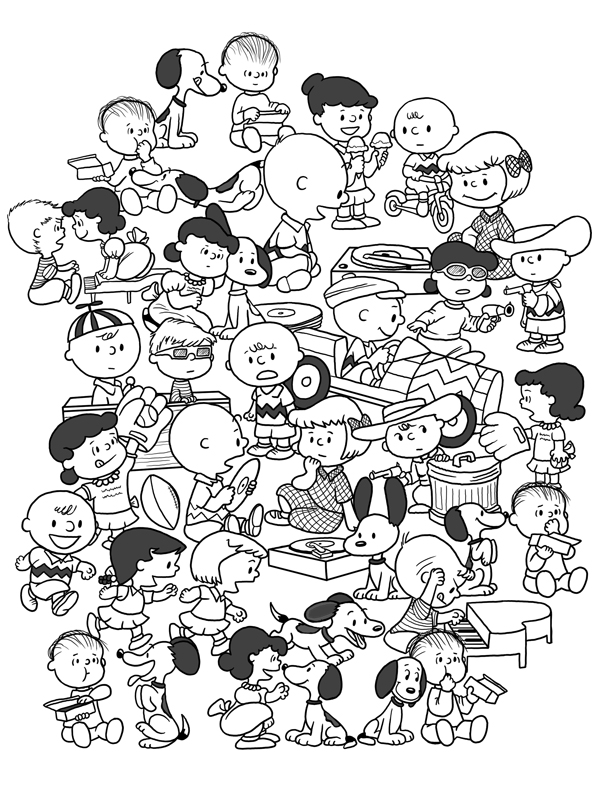 Old School Peanuts