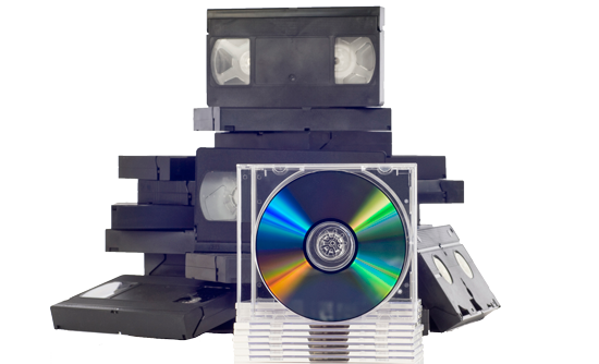 Tapes with DVD