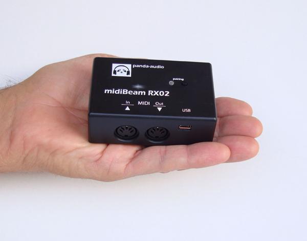 l'interface MIDI sans fil midiBeam