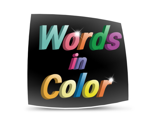About Words in Color