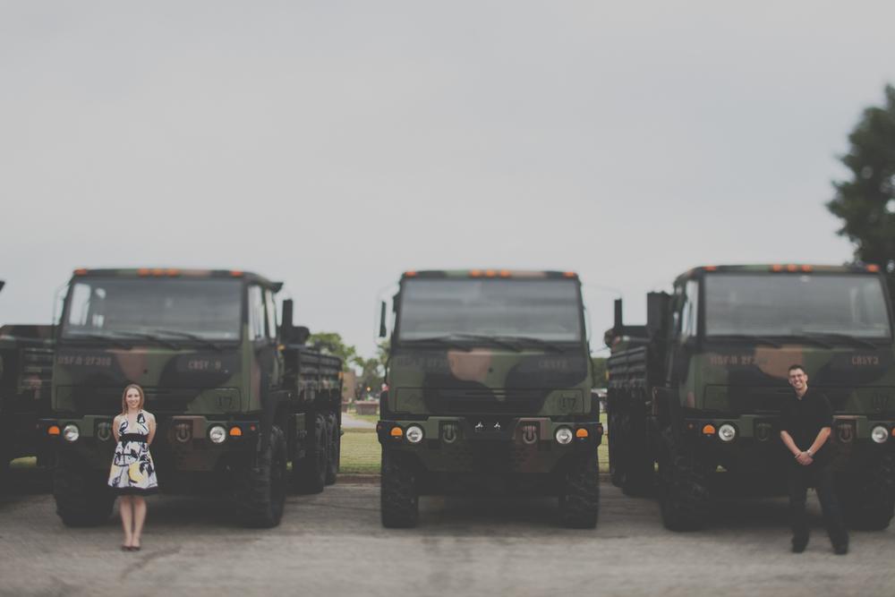 Austin Military Engagement Photographer