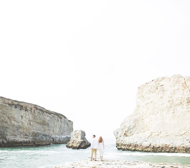 Shark Fin Cove Beach 🌊 Pumped to be shooting portraits again.