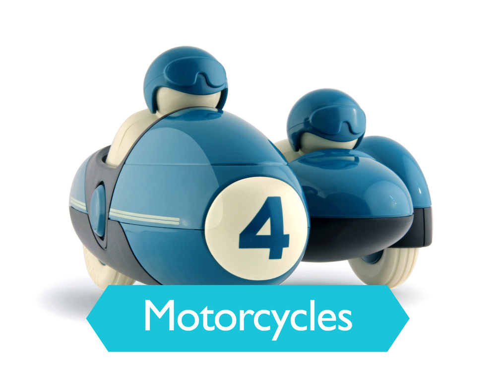 Playforever Enzo Motorbike Blue