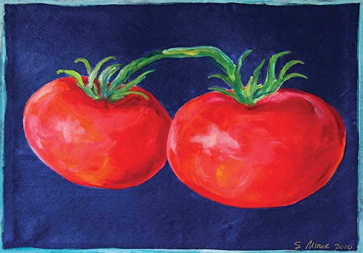Tomatoes Placemat
