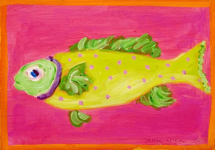 Polkadot Fish Placemat