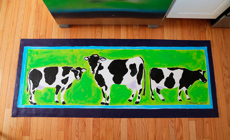 Custom Cow Runner