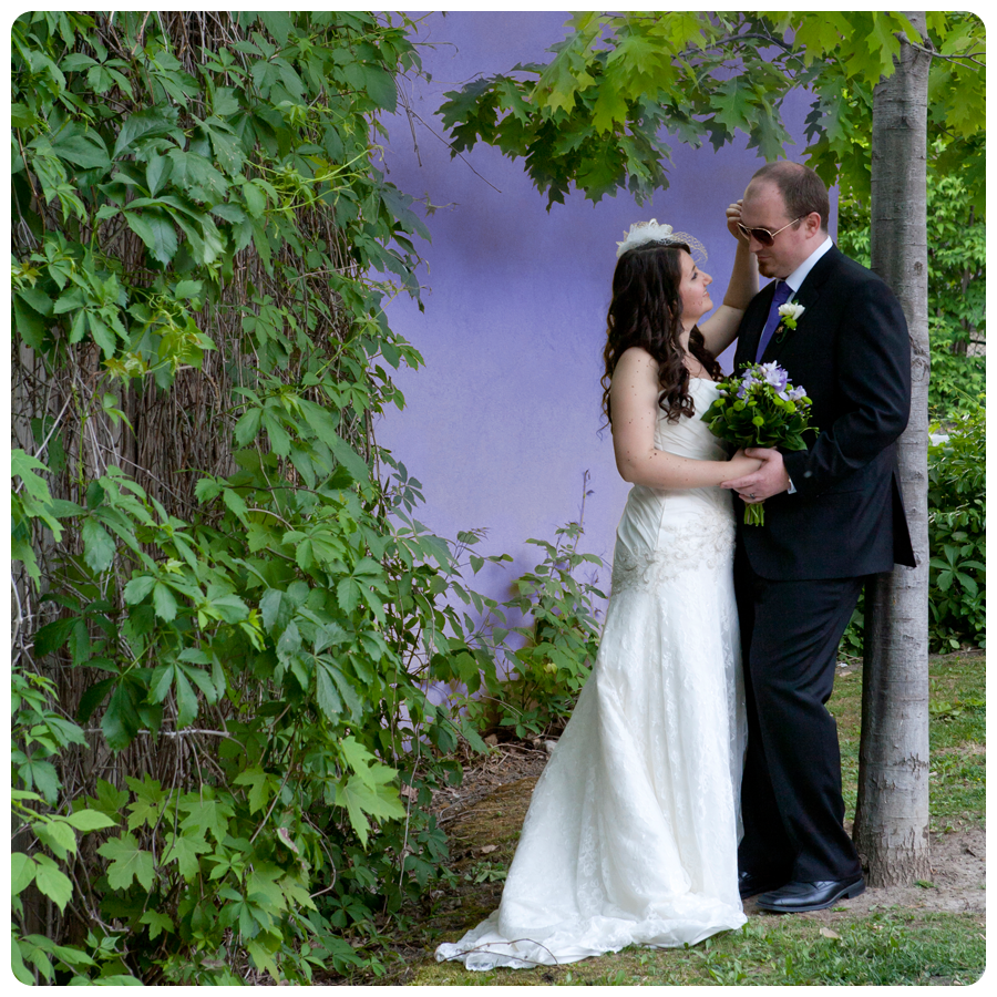 Andrea & Dave's perfect wedding day!