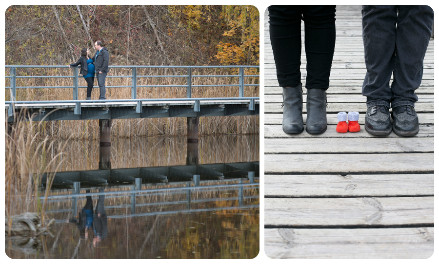 We had so much fun photographing Andrea & Dave at the Brick Works for their maternity session :)