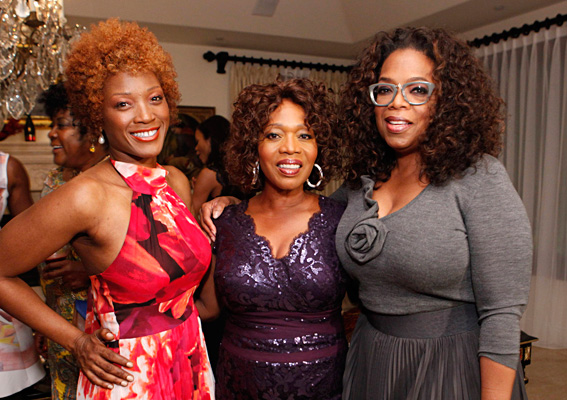 Being Honored by Alfre Woodard at her Annual Oscars Sistah Soiree 2014