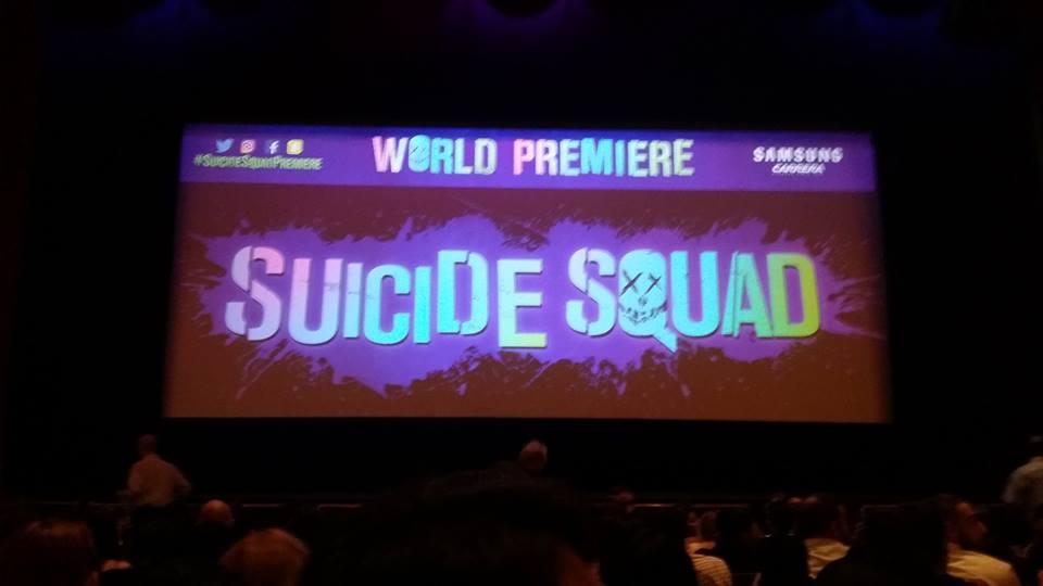 Suicide Squad Premiere