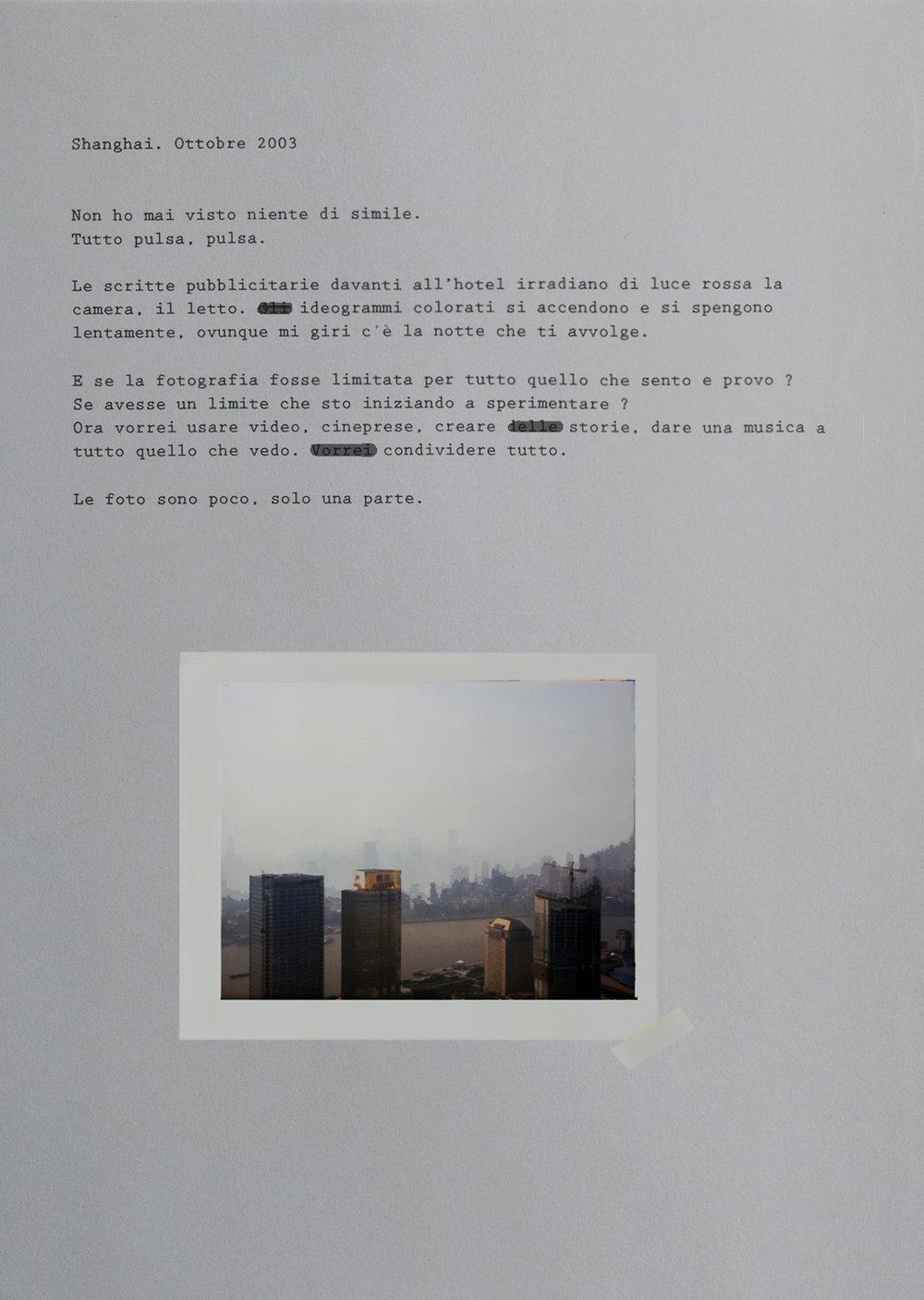 Shanghai. Octber 2003