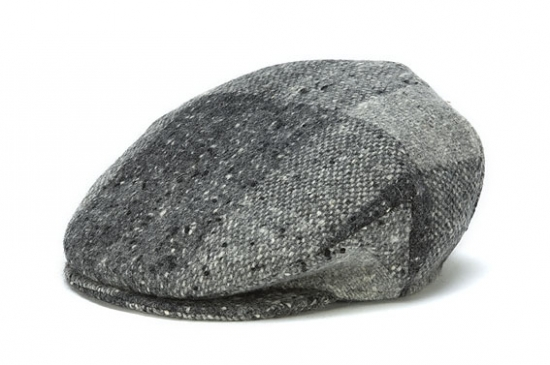 cc3b848b7 Vintage Heather Tweed Cap from Hanna Hats of Donegal