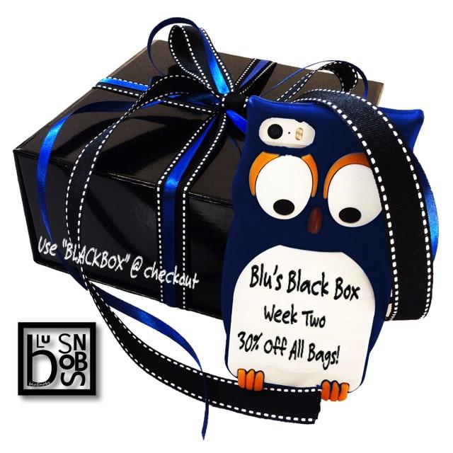 Blu's Black Box Week Two: 30% Off All Bags