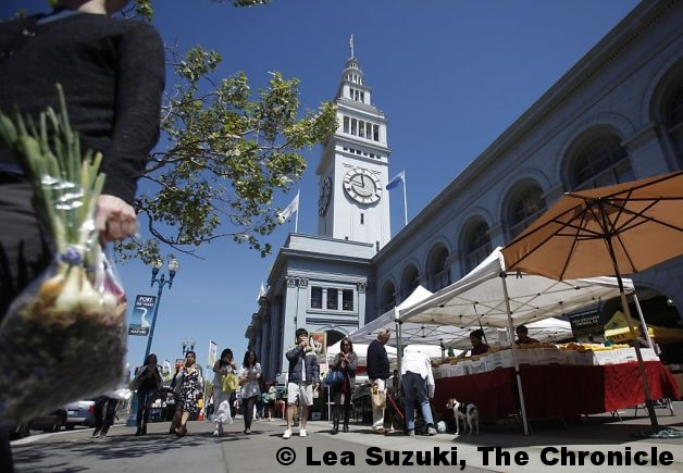 "San Francisco Chronicle ""Ferry Plaza Market Cultivates a Revolution"" by Tara Duggan"