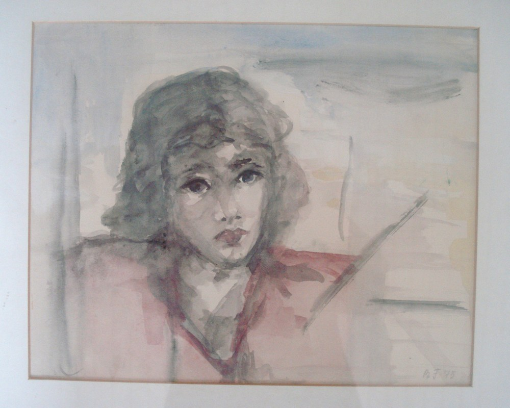 Akvarel fra 1975