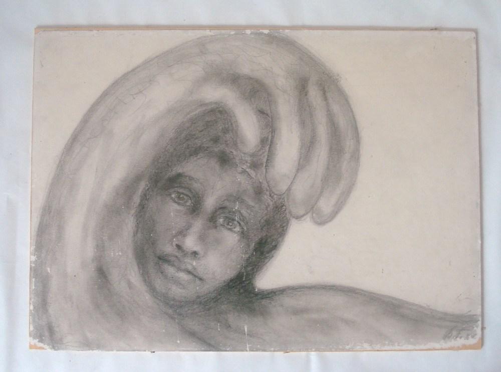 Blyantstegning 1980