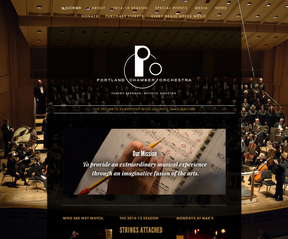 The Portland Chamber Orchestra