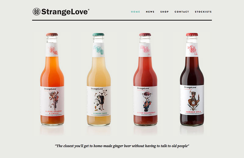 Strangelove Ginger Beer