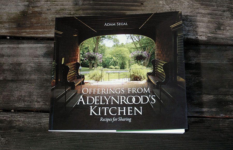 The Adelynrood Cookbook designed by Liz Gill Neilson