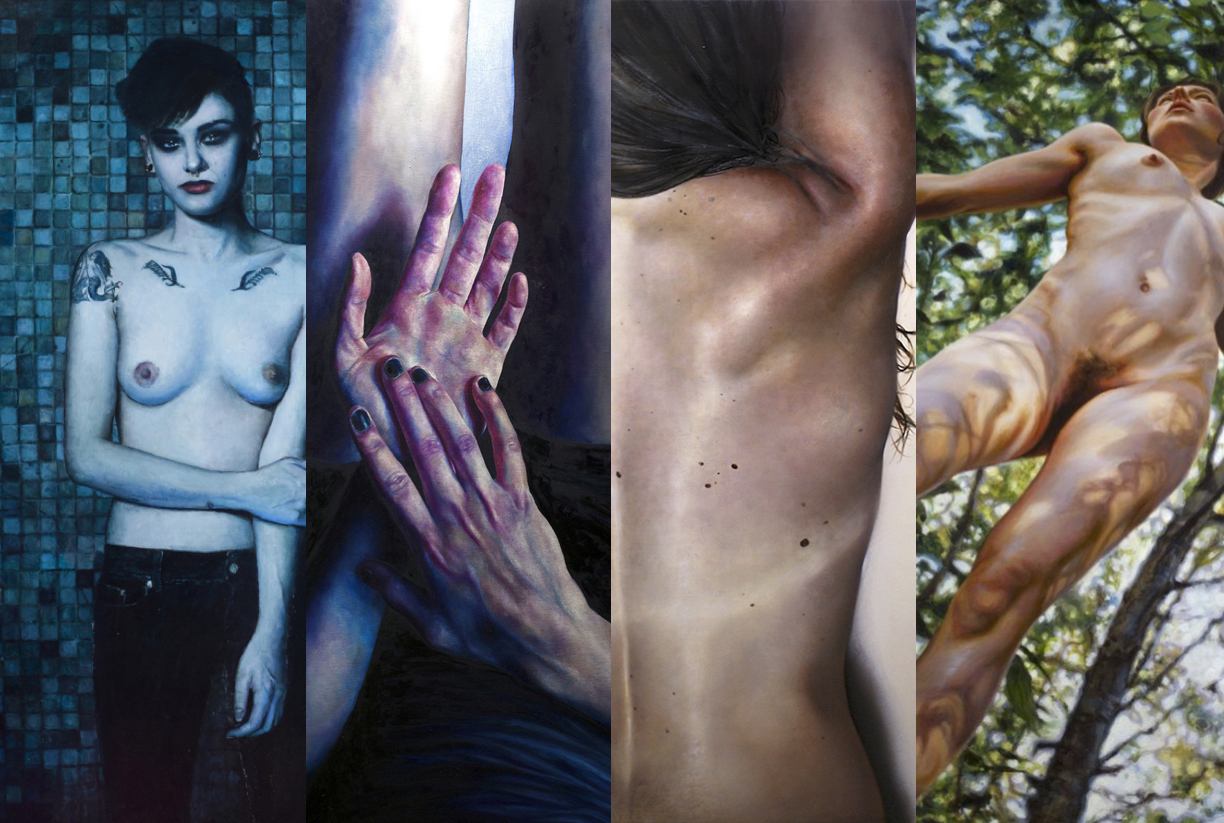 Paintings by Ryan Shultz, Daliah Ammar, Krista Smith, and Susannah Martin