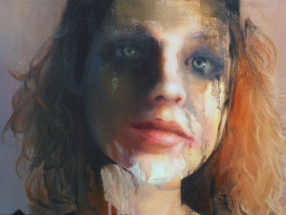 Caroline Westerhout  |  Part 9 (Logic Series) |  Oil on Canvas  |  30 x 40 cm or 11 ¾ x 15 ¾ inches