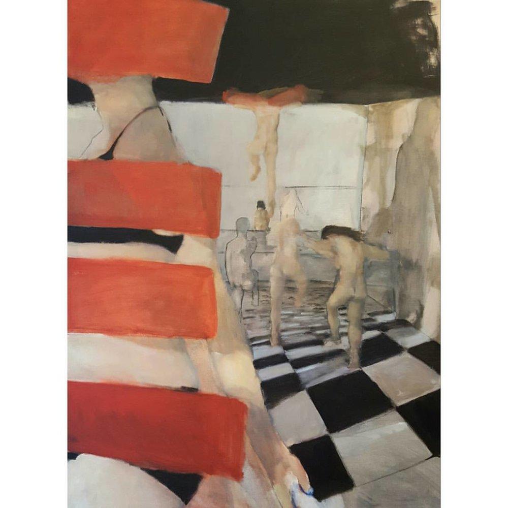 Karen Kappcke | Opus 111 | oil on canvas | 40x30