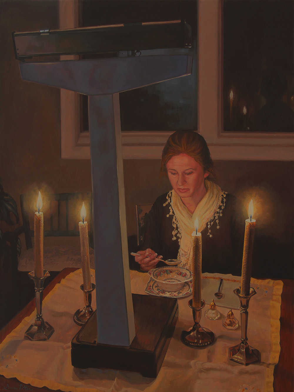 Serena Potter | The State of Union | oil on canvas | 32x24 |  serenapotter.com