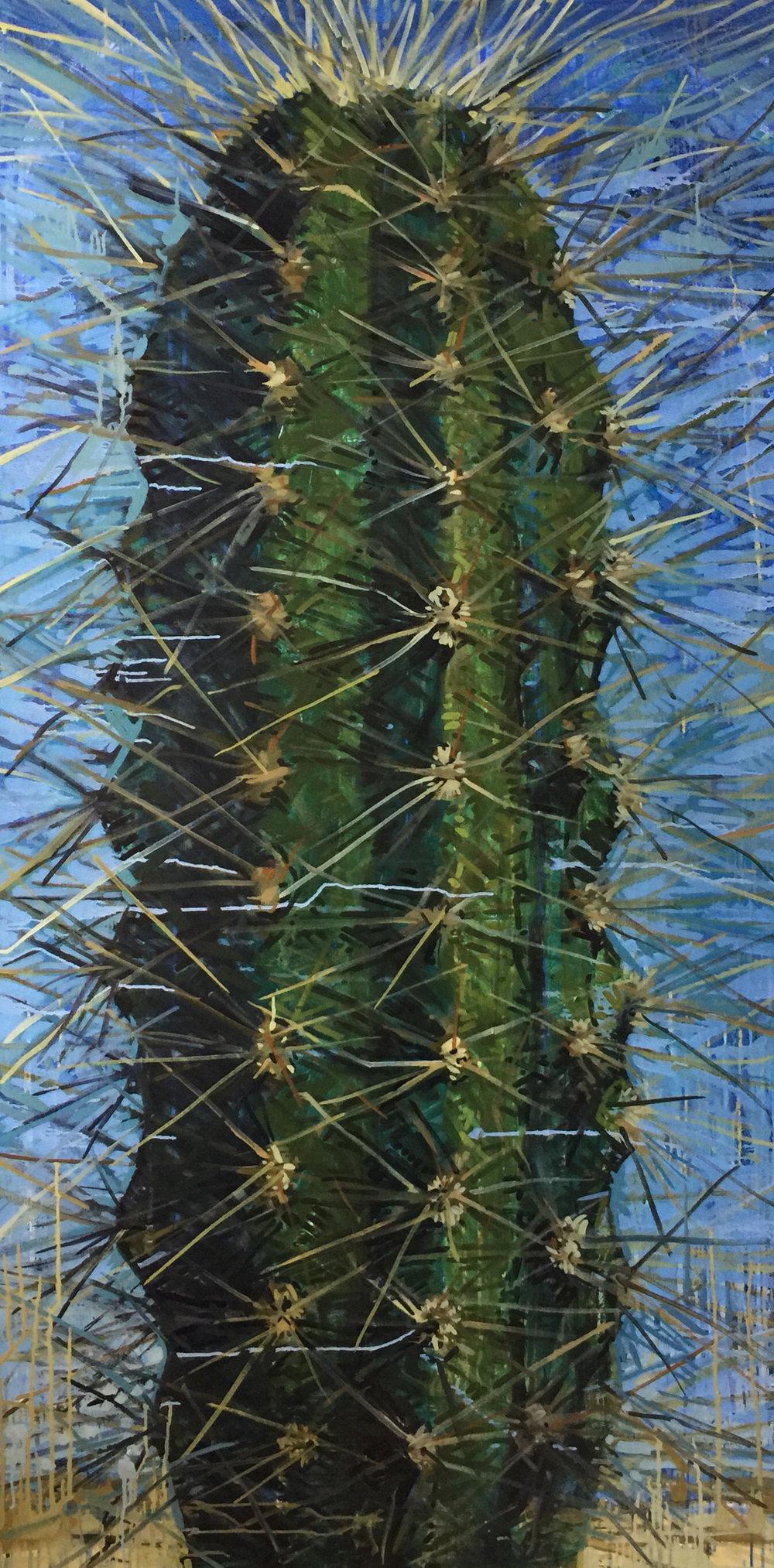 Matthew Cherry | Sentinel I | oil on canvas |73x36