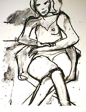Richard Diebenkorn lithograph
